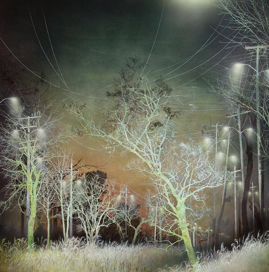 SODIUM VAPOR STREET LAMPS