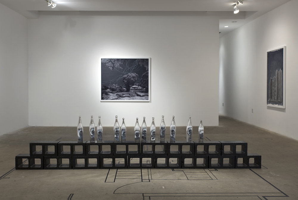 NEGATIVE SEA WALL INSTALLATION VIEW II